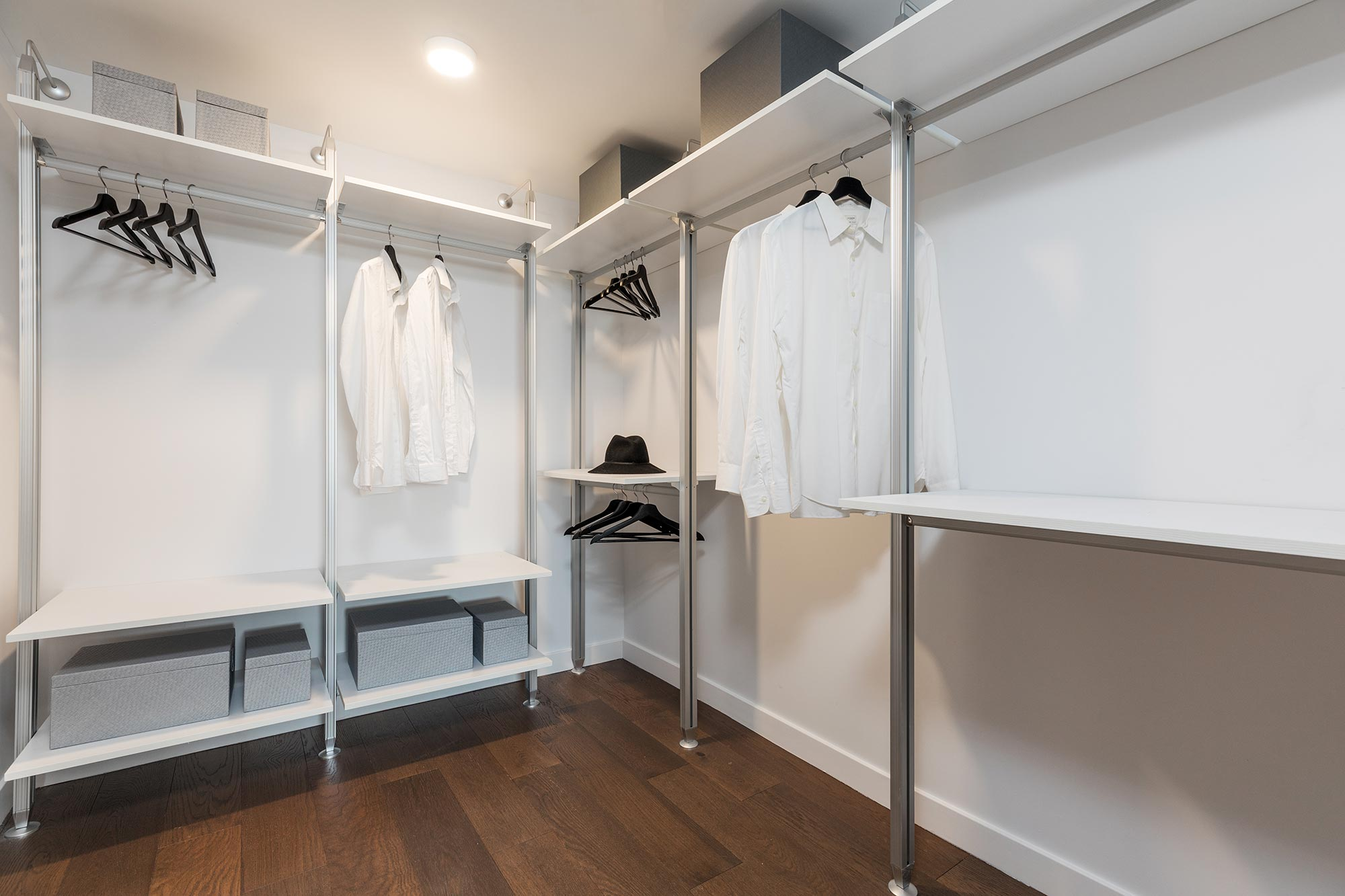European-style closet build-outs